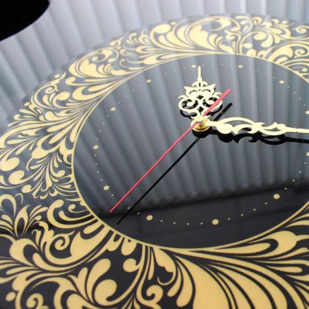 Часы с фотопечатью и перламутром2