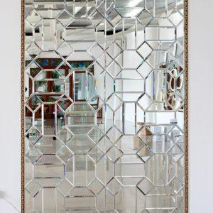 Мозаика из зеркал геометрической формы2