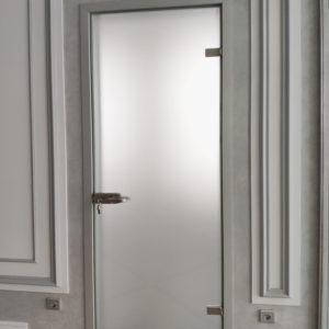 Двери из стекла-сатин