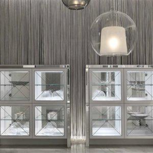 Облицовка мебели зеркалами