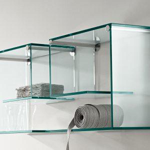 Купить полку со стеклом