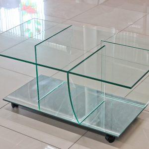 стеклянный журнальный столик